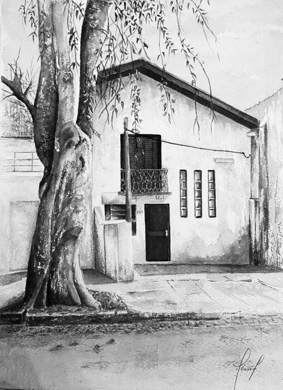 Casa histórica na Avenida Amazonas